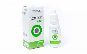 Краплі для очей з активним зволожуючим компонентом - Comfort Drops Avizor 15 мл